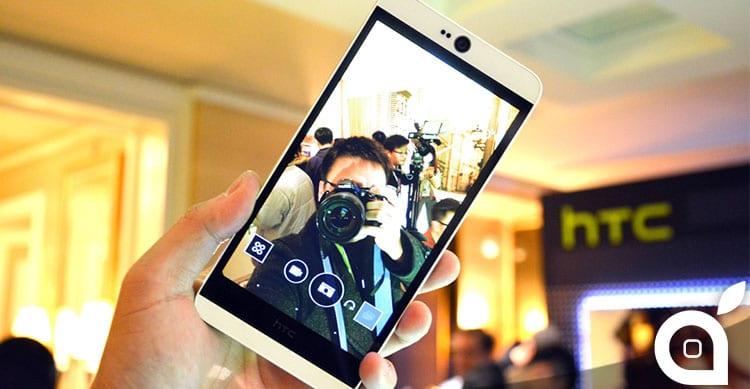 CES 2015: HTC Desire 826, lo smartphone per il selfie perfetto