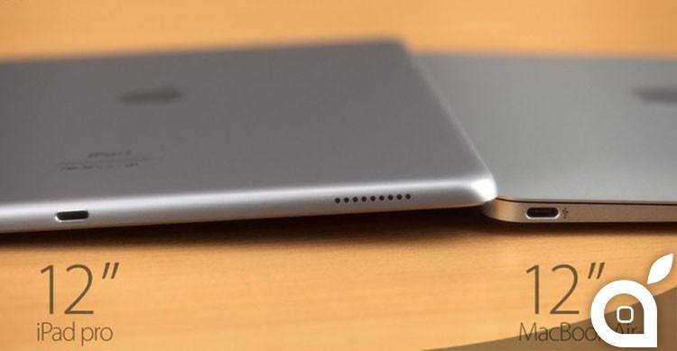 iPad pro 12 pollici contro macbook air 12 pollici