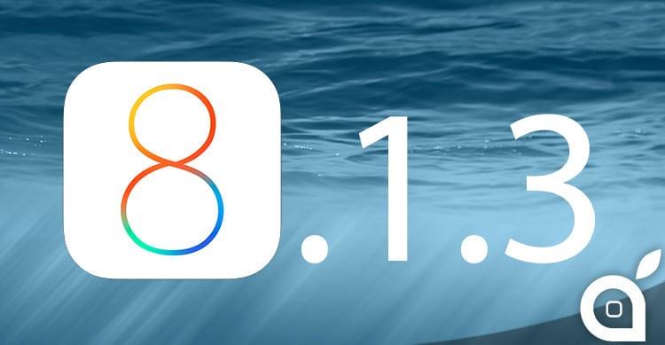 Apple rilascia iOS 8.1.3 beta 2 agli impiegati