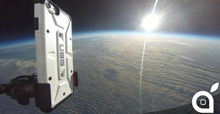 iphone 6 nella stratosfera