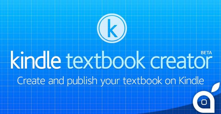 Amazon rilascia Kindle Textbook Creator per Mac
