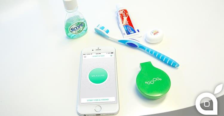 Mint, l'accessorio per scoprire se avete un alito profumato oppure no [Video]