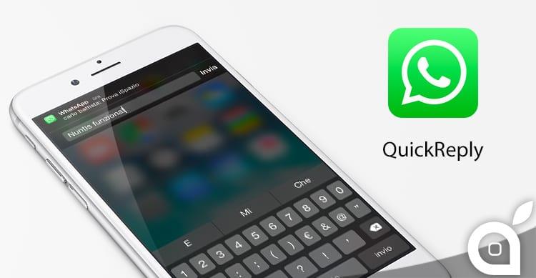 Whatsapp e le Risposte Rapide dalle Notifiche: con il nuovo tweak Nuntis è possibile abilitare questa funzione!