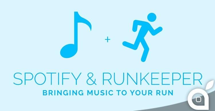 RunKeeper annuncia l'integrazione con Spotify, ma solo per utenti premium