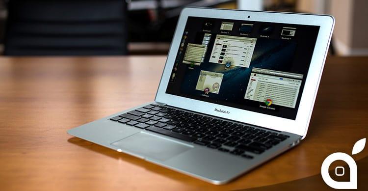 Incremento delle spedizioni di Mac del 18.1% in un anno