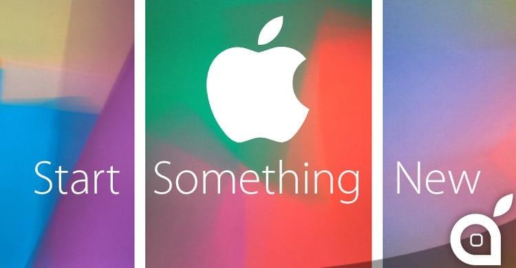 """Apple inaugura la nuova pagina """"Start Something New"""" sul proprio sito"""