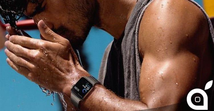 Apple Watch resistenza all'acqua