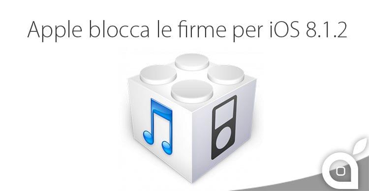 Apple blocca le firme per iOS 8.1