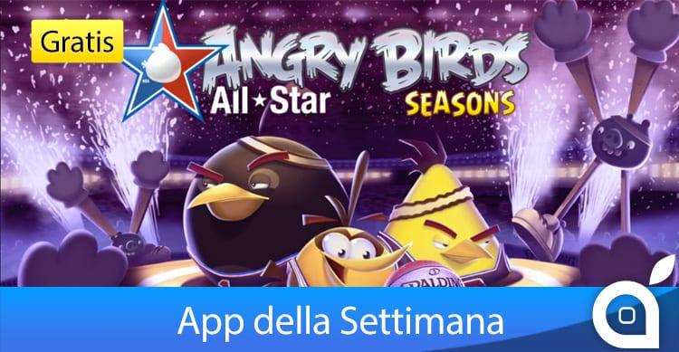 """Apple rende gratuito """"Angry Birds Seasons"""" per 7 giorni con l'App della Settimana. Approfittatene!"""