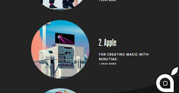 Secondo Fast Company, Apple è la seconda società più innovatrice al mondo