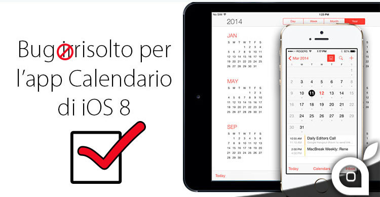 bug fuso orario calendario ios