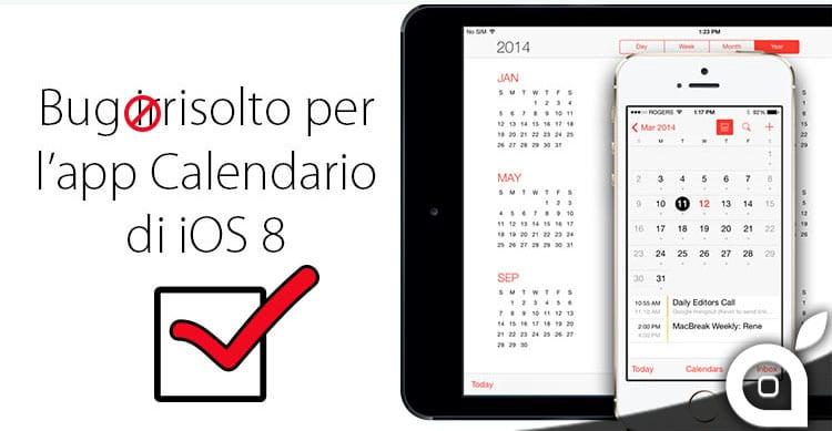 Apple corregge il bug del fuso orario nel Calendario di iOS