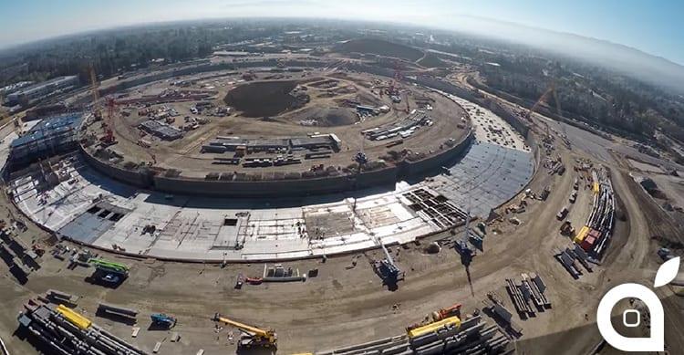 Un nuovo video mostra l'avanzamento dei lavori del Campus 2 di Apple