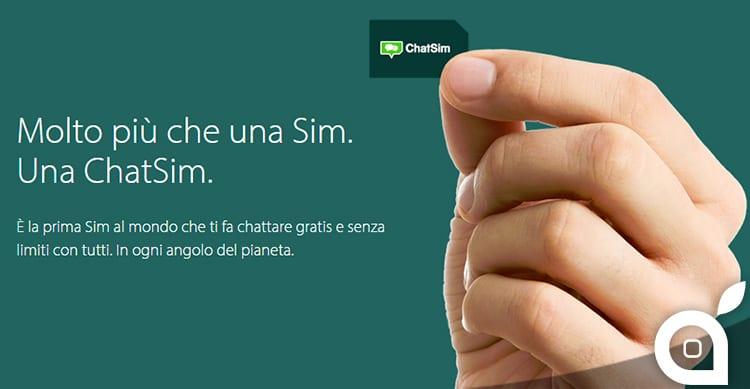WhatSim diventa ChatSim, la prima Sim al mondo che fa chattare gratis e senza limiti con tutte le App di instant messaging