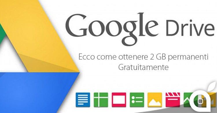 google drive 2gb gratis