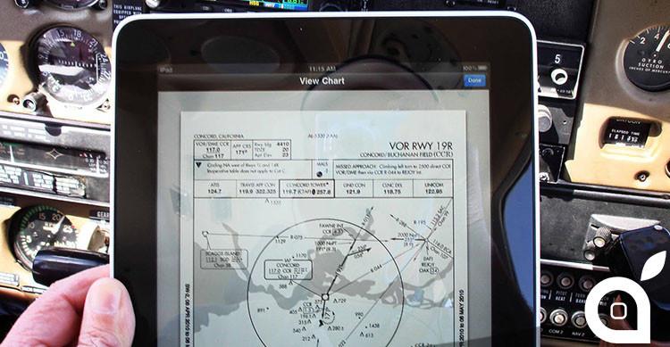 iPad sventa disastro aereo