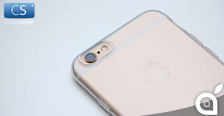 Deals iSpazio prova e sconta ZeroFlex 0.3 PRO: La custodia iPhone 6 CoverStyle sottile, flessibile e con bordo fotocamera maggiorato