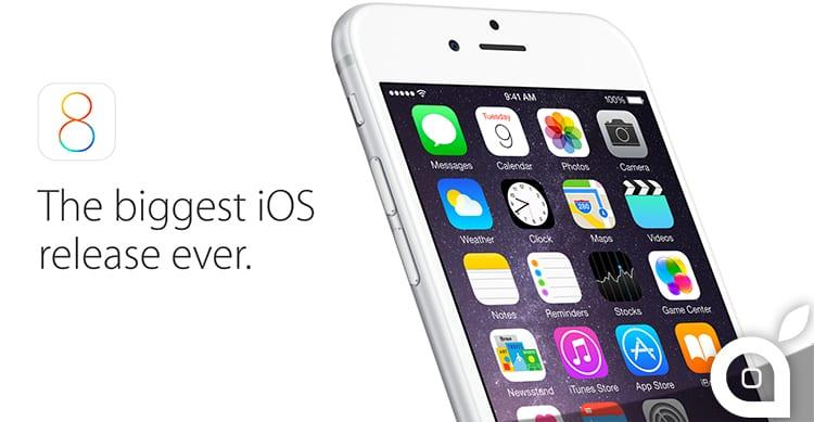 Apple renderà disponibili pubblicamente le Beta di iOS 8.3 e di iOS 9