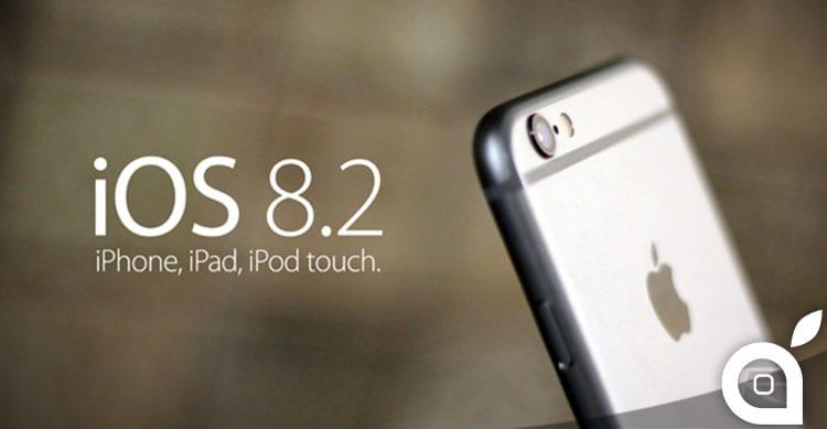 iOS 8.2 rilasciato a Marzo prima del lancio di Apple Watch