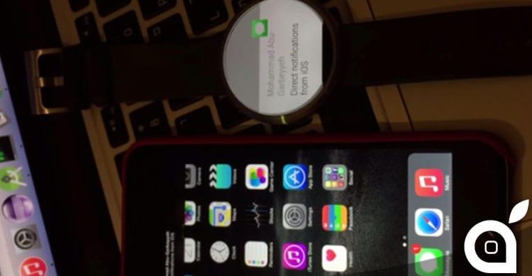 moto 360 funziona con iphone