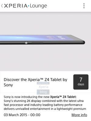 tablette-sony-xperia-z4-app