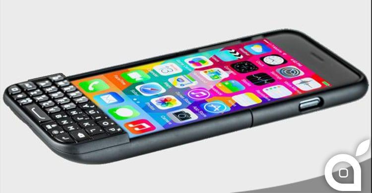 BlackBerry attacca nuovamente Typo e la cover/tastiera per iPhone