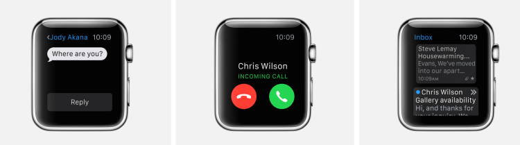 Messages-Phone-Mail-watch-apps