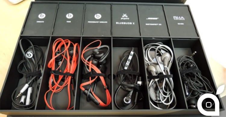 Ecco il demo kit delle cuffie in-ear che troverete negli Apple Store