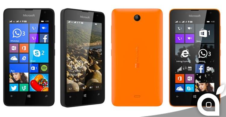 Microsoft presenta lo smartphone più economico che abbia mai creato: ecco il Lumia 430