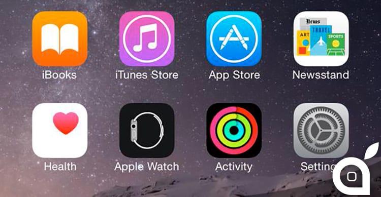 L'applicazione Attività per Apple Watch è già presente in iOS 8.2, ma è nascosta