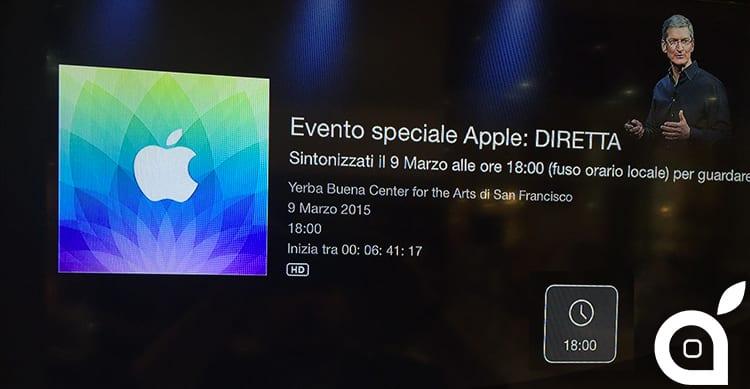 Apple Special Event: il canale dedicato ai keynote appare su Apple TV