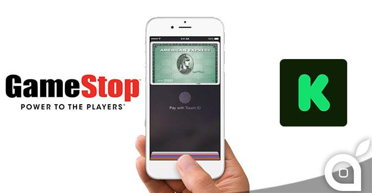 Apple Pay si espande: accettata anche da GameStop e KickStarter