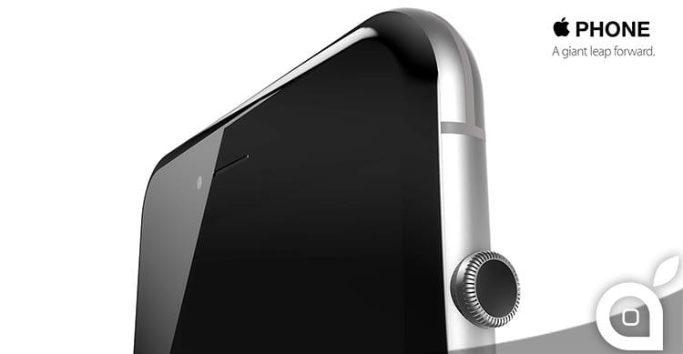 iPhone 7: ecco come potrebbe essere con la Corona Digitale che sostituisce il tasto Home