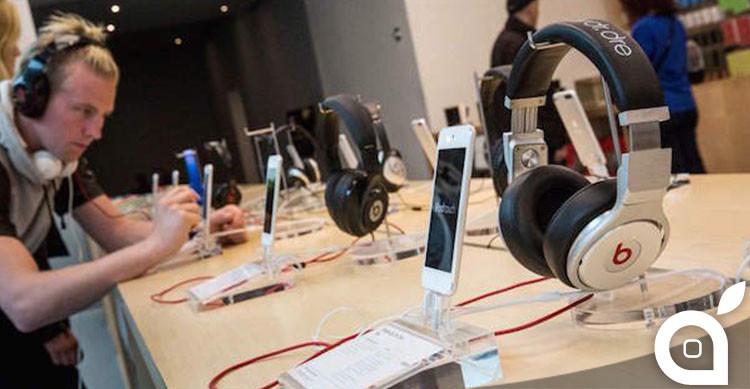 apple store auricolari demo kit