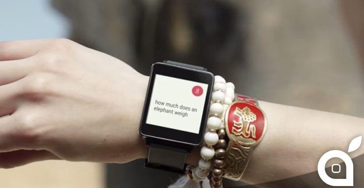 Apple Watch VS Android Wear: confronto diretto