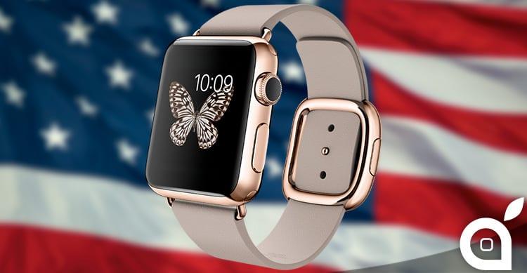 Apple ha venduto 2.8 milioni di Apple Watch negli Stati Uniti