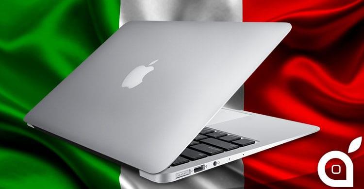 Anche l'Italia colpita dall'aumento di prezzo dei MacBook