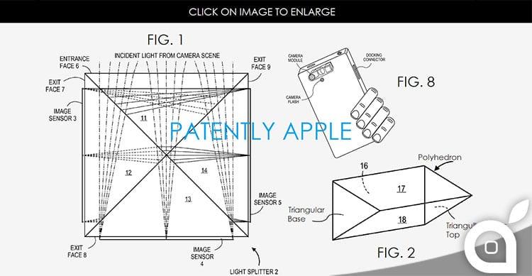 Apple deposita un nuovo brevetto per fotocamere con lenti zoom e una migliore stabilizzazione