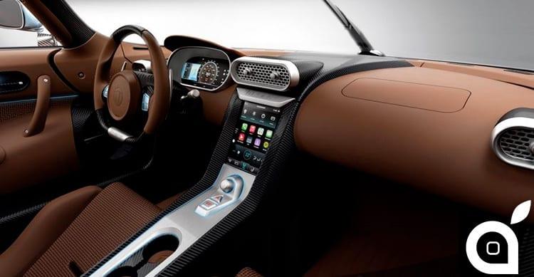 L'incredibile Koenigsegg Regera integra il sistema CarPlay di Apple
