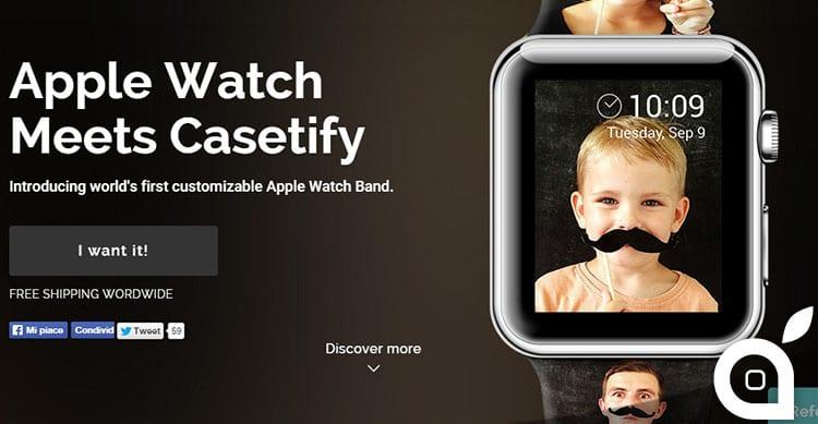 Fai di un Apple Watch il TUO Apple Watch con un cinturino con foto stampata