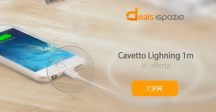 Cavetto Lightning 0,9 certificato MFI a 7,99€