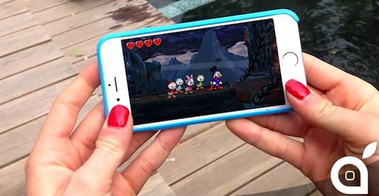 DuckTales Remastered: il gioco dell'omonimo cartone Disney è in arrivo su iPhone