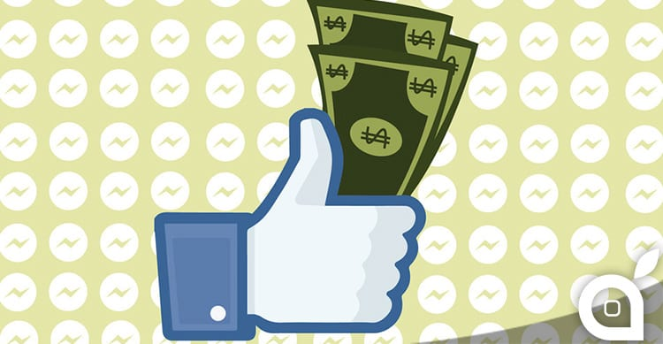 Facebook annuncia un nuovo servizio di pagamento tramite Messenger, ma solo per gli Stati Uniti