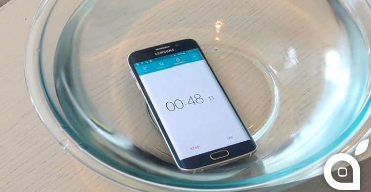 Il Galaxy S6 EDGE sopravvive a Drop Test aggressivi e all'immersione in acqua [Video]