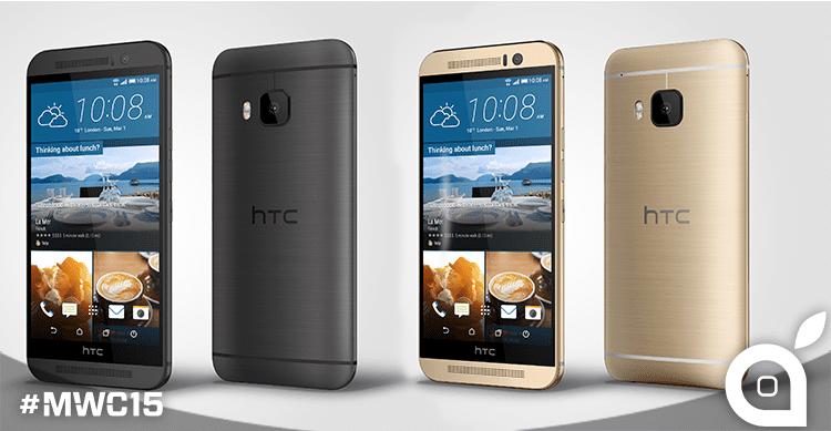 [MWC 2015] HTC presenta HTC One M9, HTC Grip e Vive!