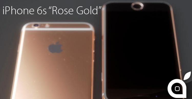 iphone6srosegold
