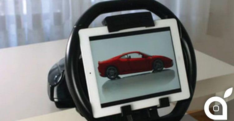 Ecco Kolos: il volante che rende reali i giochi di corsa su iPad [Video]