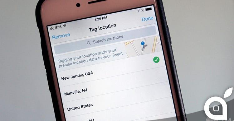 Twitter migliora il riconoscimento della posizione con l'aiuto di Foursquare