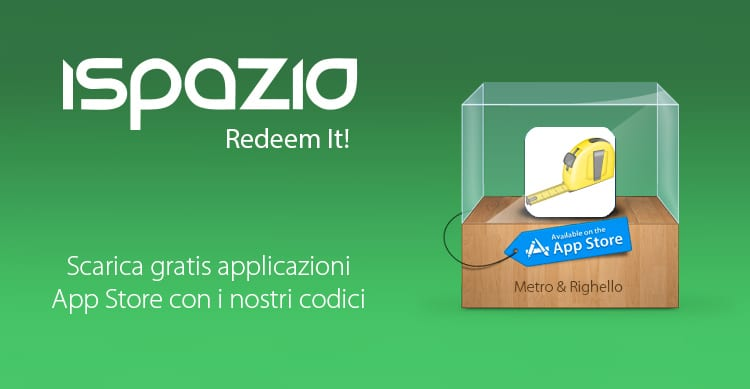 iSpazio Redeem It! – Vinci 4 copie di Metro & Righello