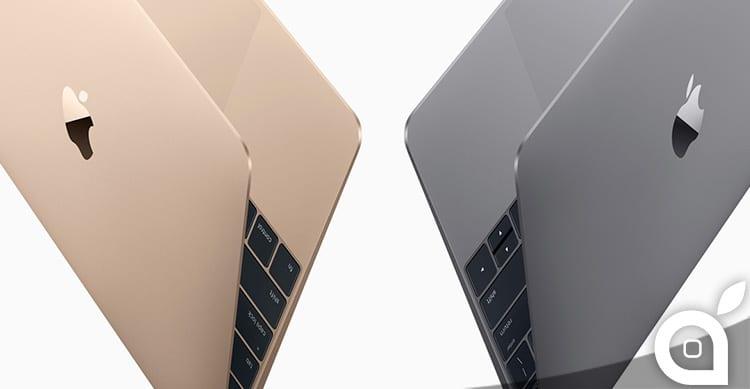 Apple conferma i prezzi delle varianti del nuovo MacBook Retina 12″